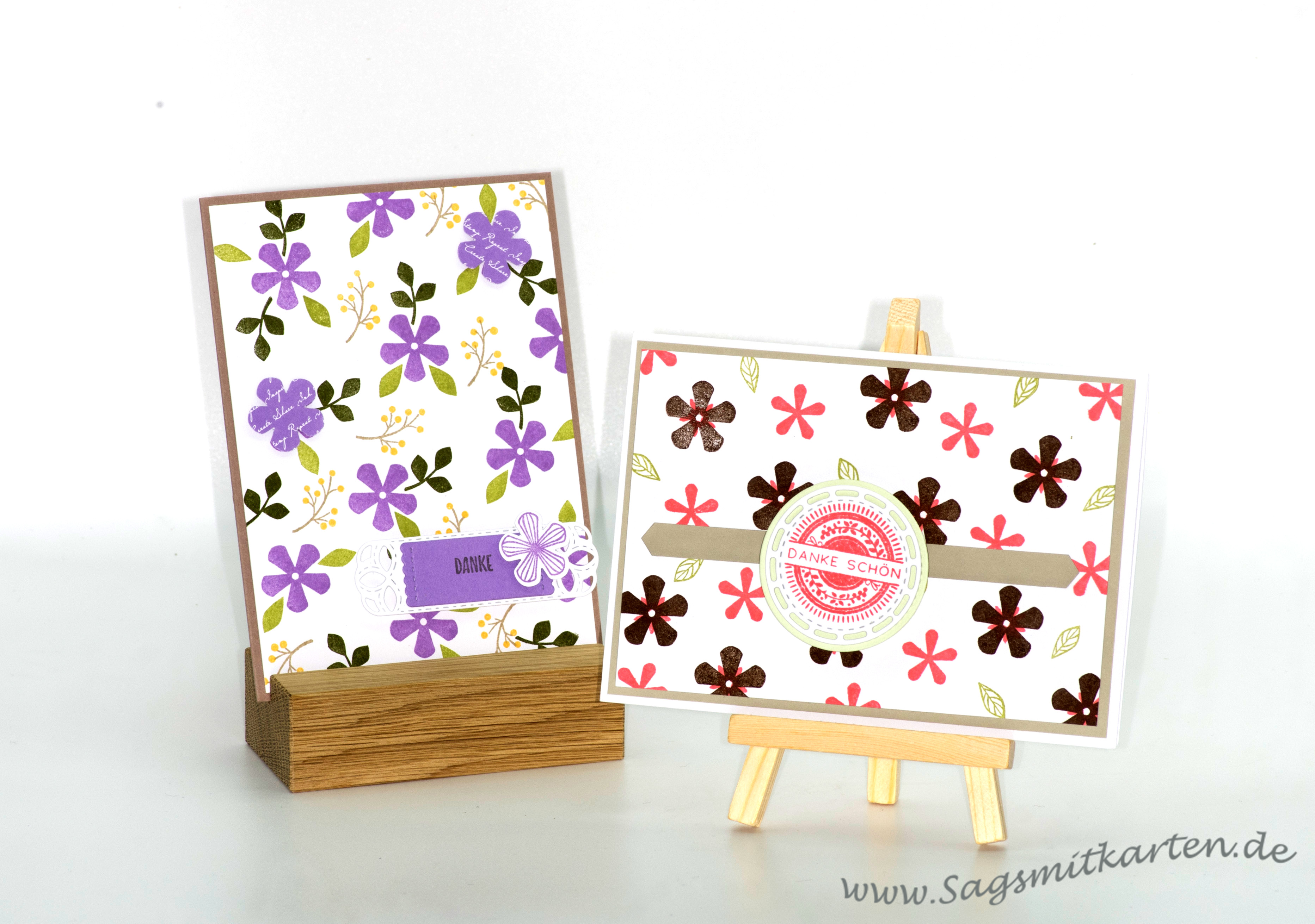 Stanze kleine Blume   –     Sale-A-Bration 2020